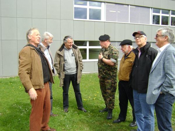 Besuch am FDK-240